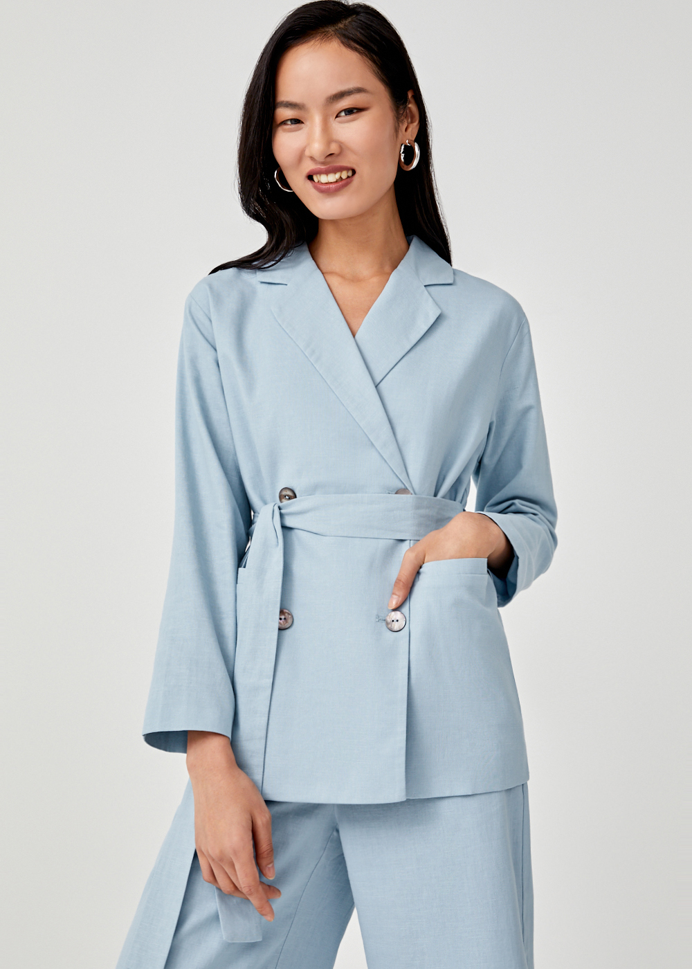 Bridget Double Breasted Blazer