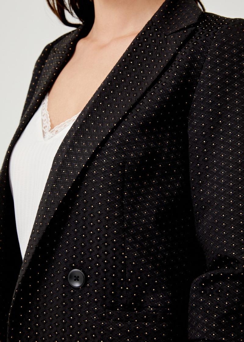 Elidi Tailored Jacquard Blazer