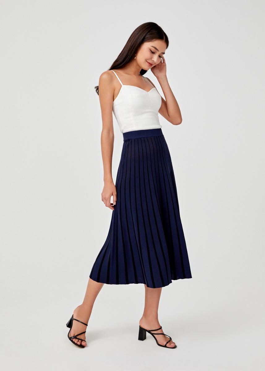 Agapia Knit Midi Skirt