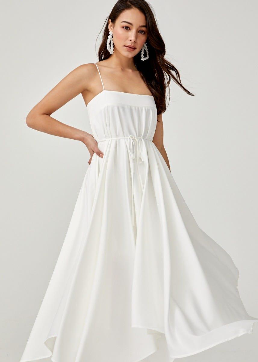 Sabria Trapeze Maxi Dress