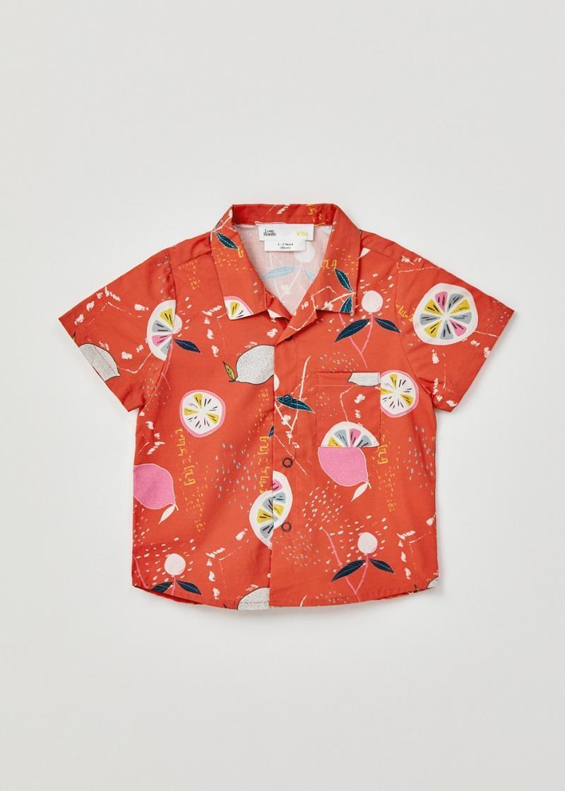 Damaris Button Down Shirt in Tutti Frutti