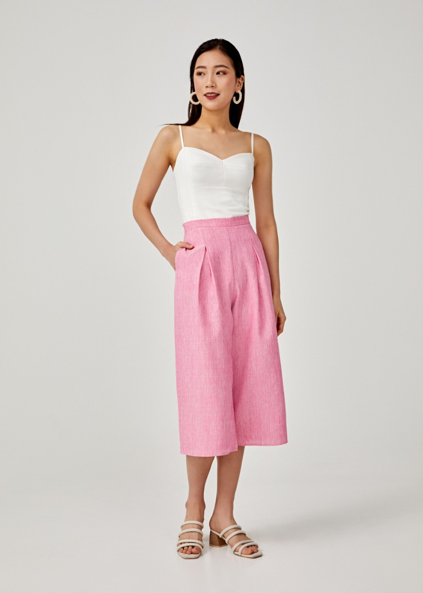 Lenore Straight Leg Culottes
