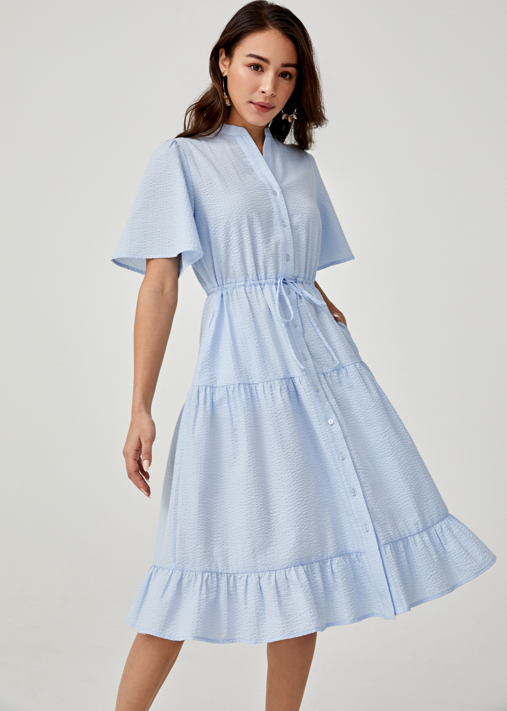 Annalee Midi Shirt Dress