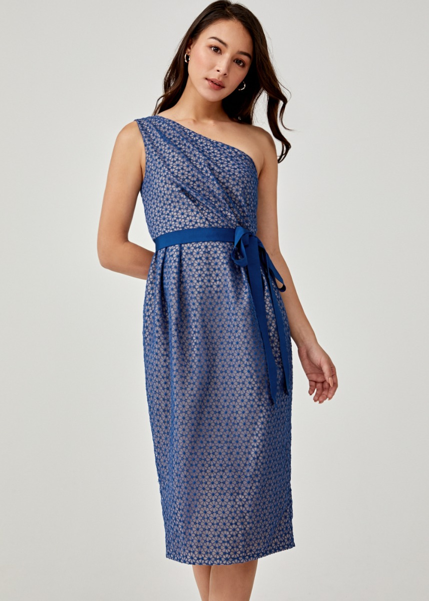 Azrael Sash Tie Toga Dress