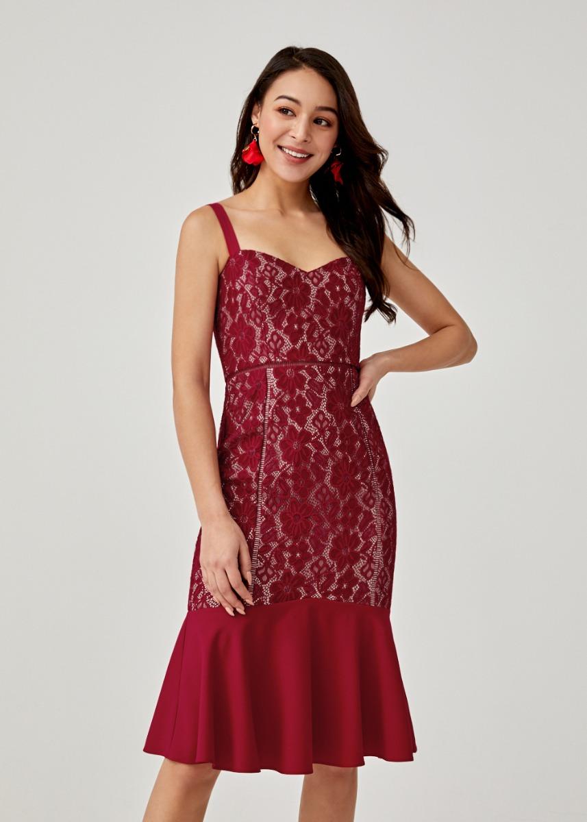 Angeliki Lace Bodycon Dress
