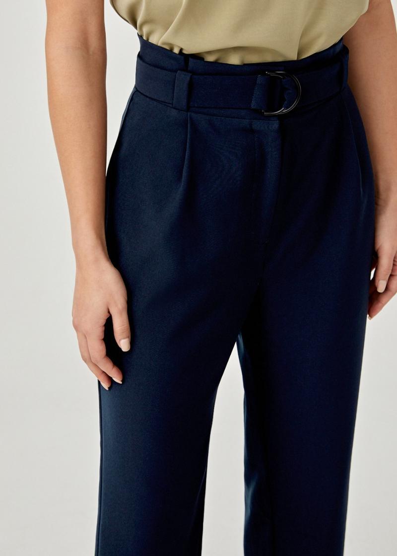 Amana Belted Peg Leg Pants