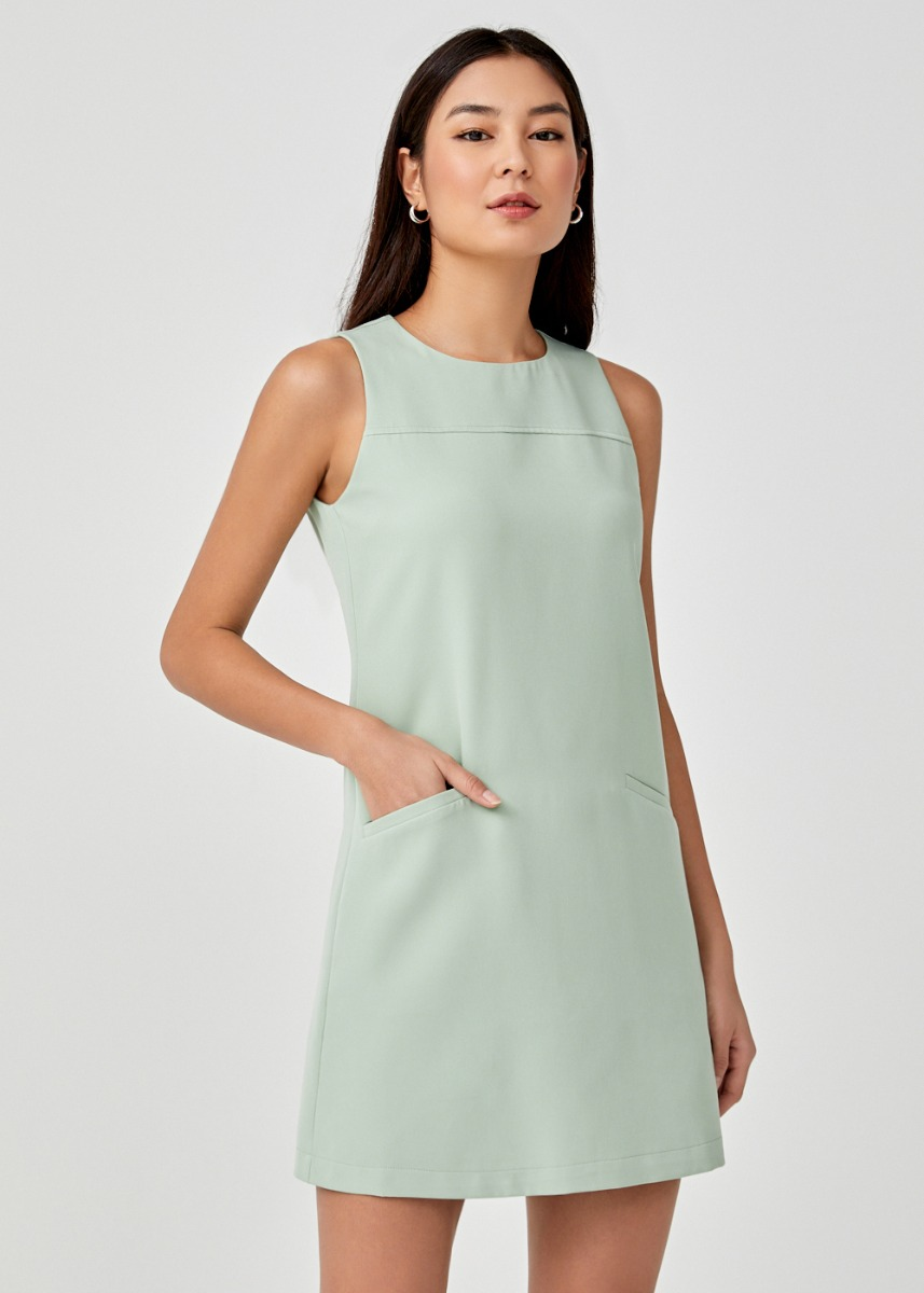 Jemima Panelled Shift Dress