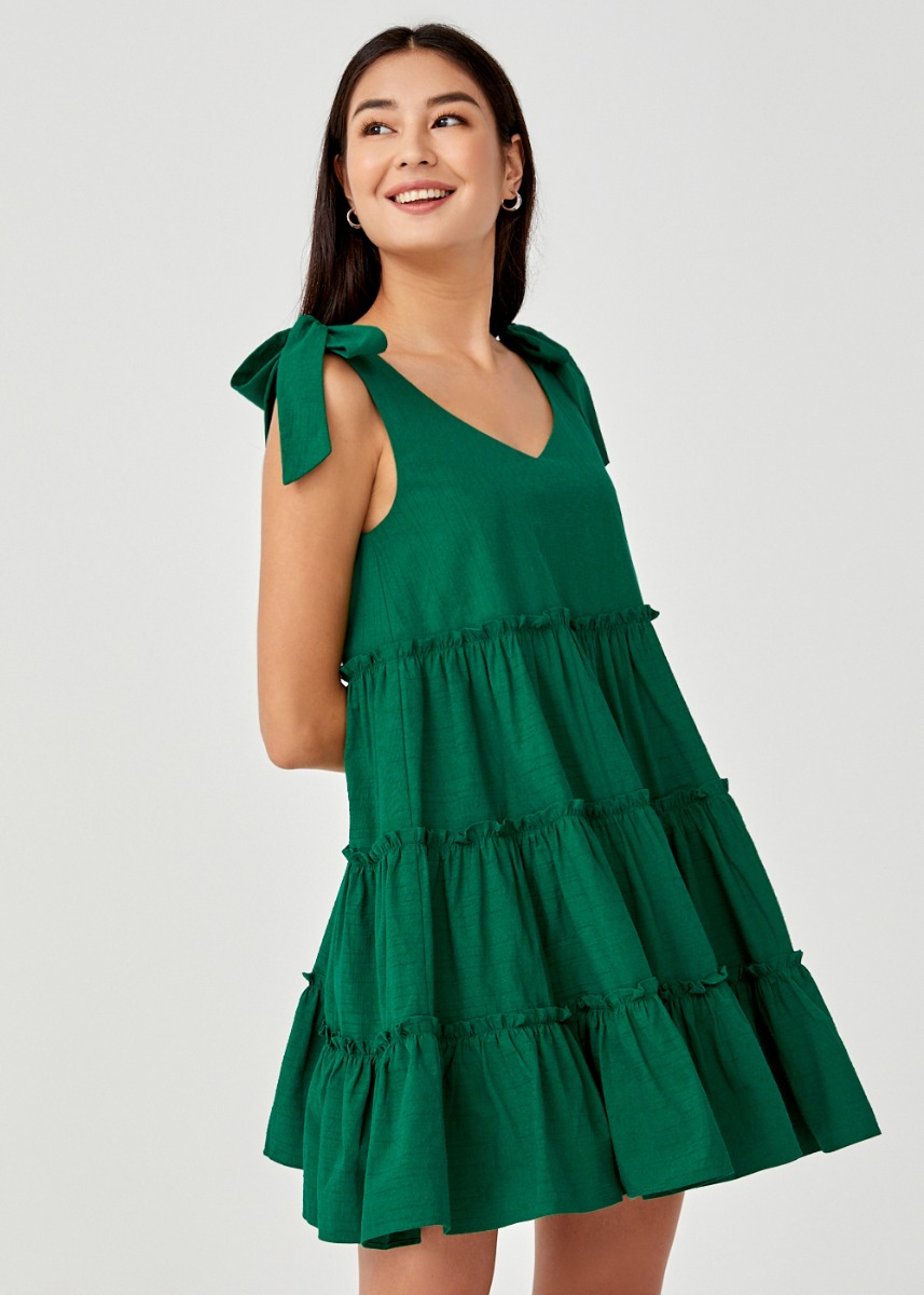 Irys Tiered Swing Dress