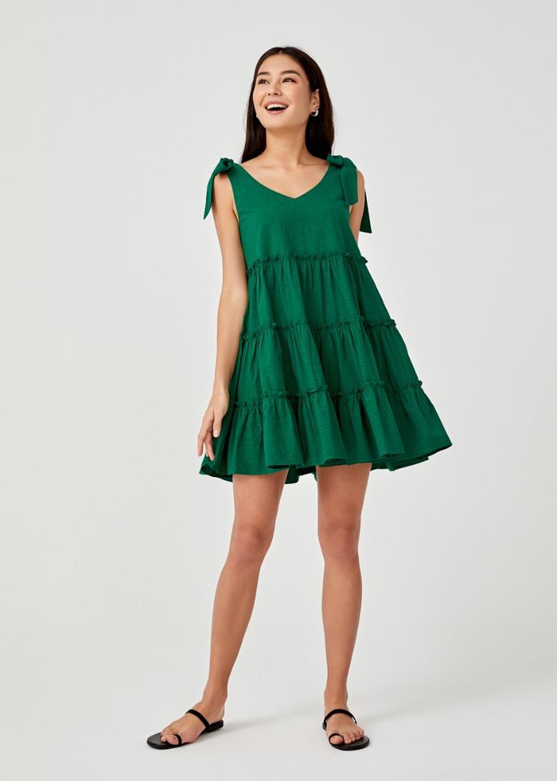 Irys Tiered Swing Dress