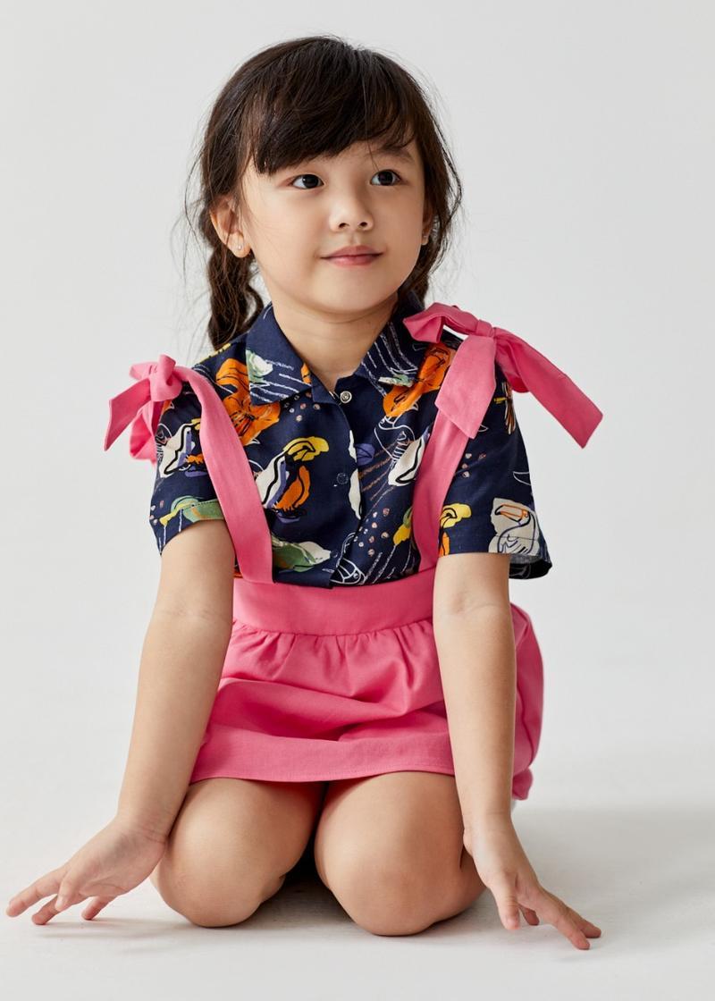 Rosabella Tie Shoulder Camisole Linen Top