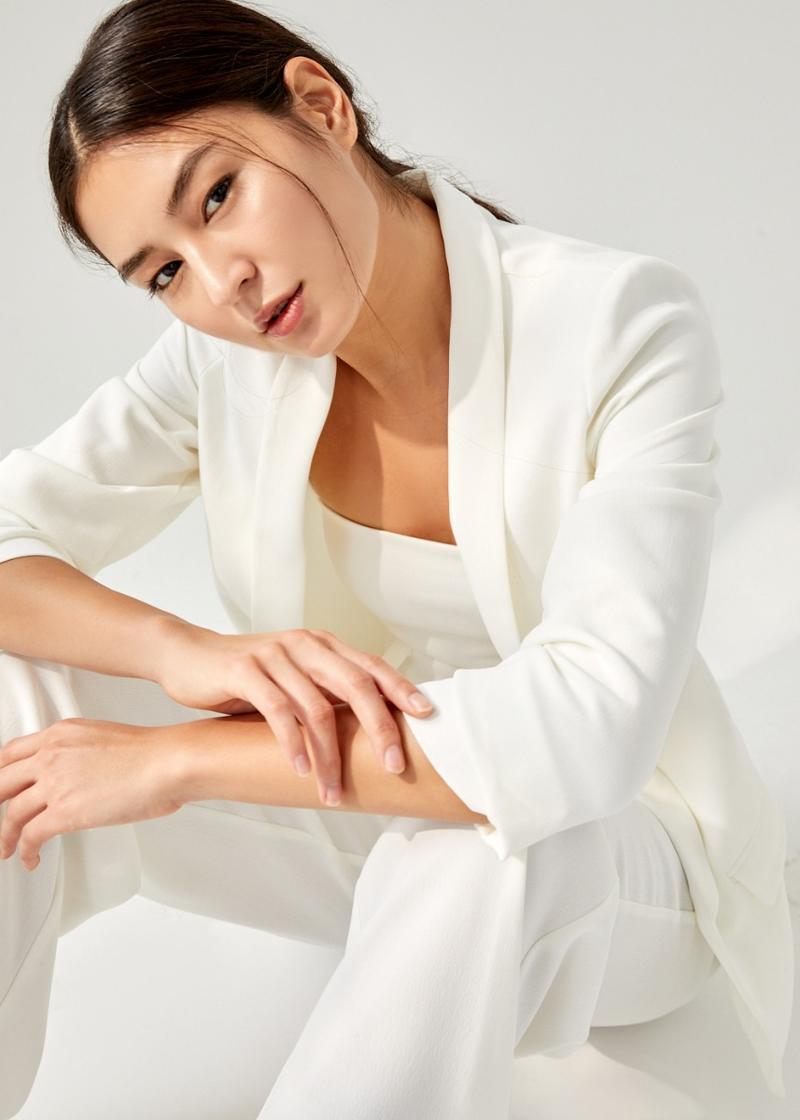Auria Shawl Collar Blazer