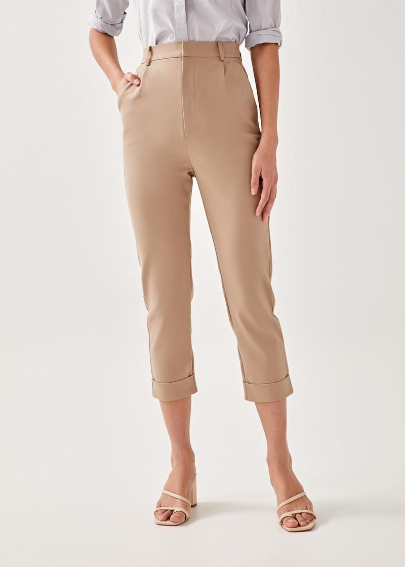 Alby Tailored Peg Leg Pants