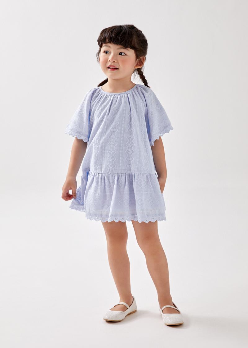 Ravenne Broderie Flare Dress