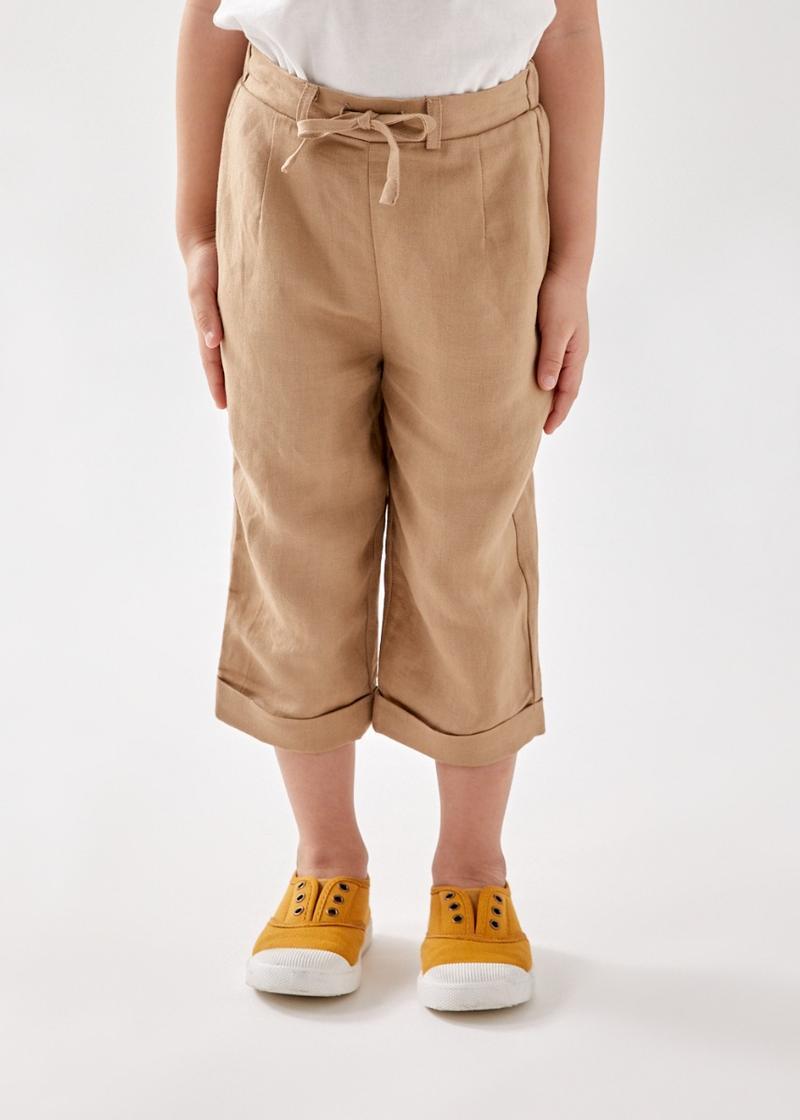 Sadir Relaxed Unisex Linen Trousers
