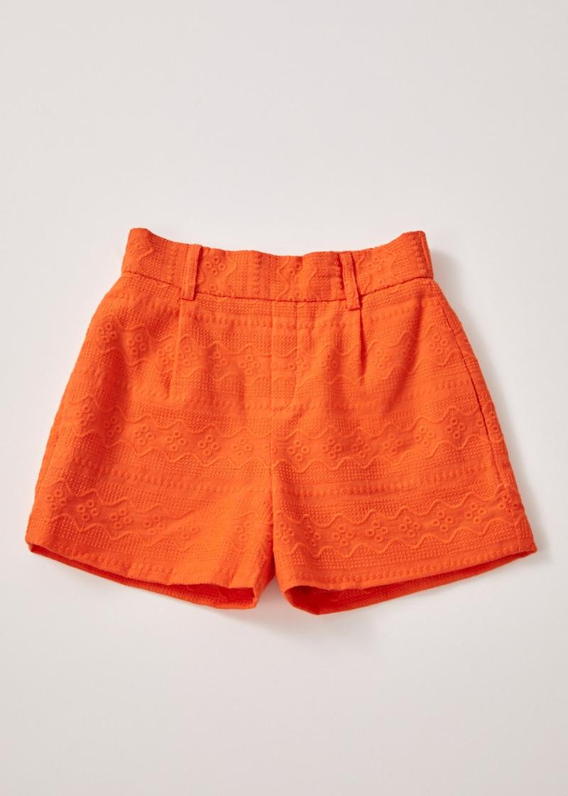 Luxa Broderie Shorts