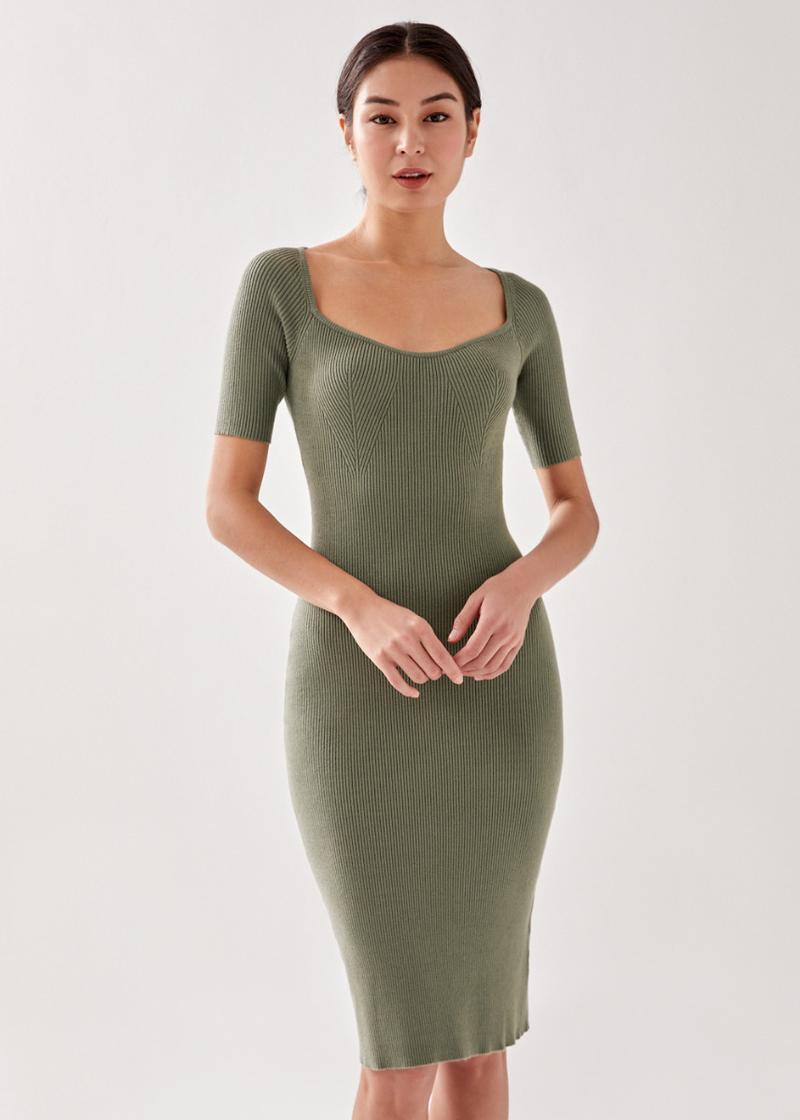 Epone Knit Bodycon Dress