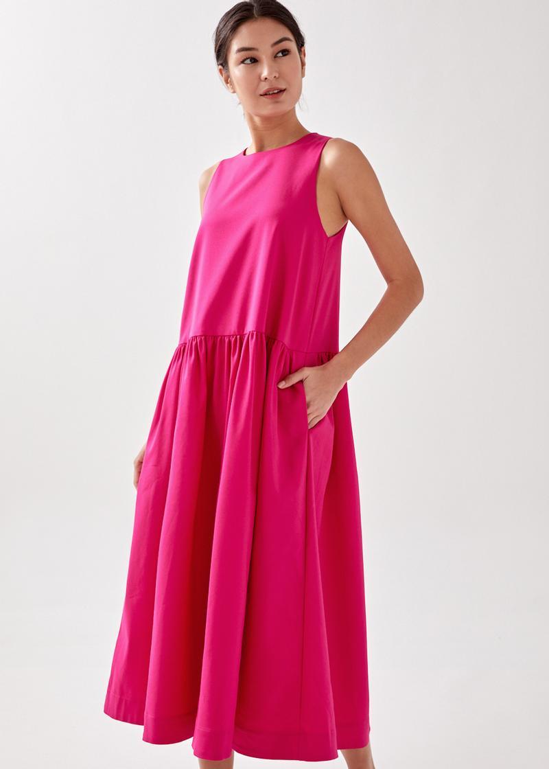 Astie Dropwaist Midaxi Dress