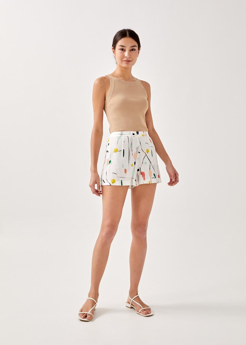 Paige Lounge Shorts in Homecoming