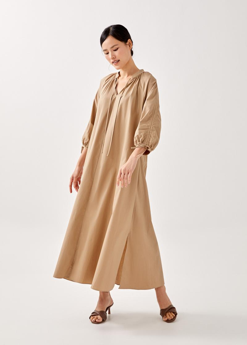 Sidney Drawstring Maxi Dress