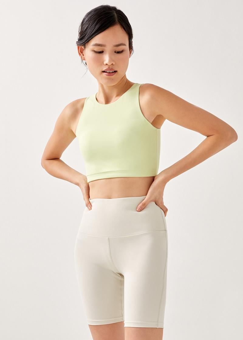 Flynn Fitted Cropped Bra Top