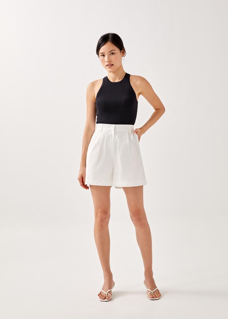 Kyra Relaxed Cotton Shorts