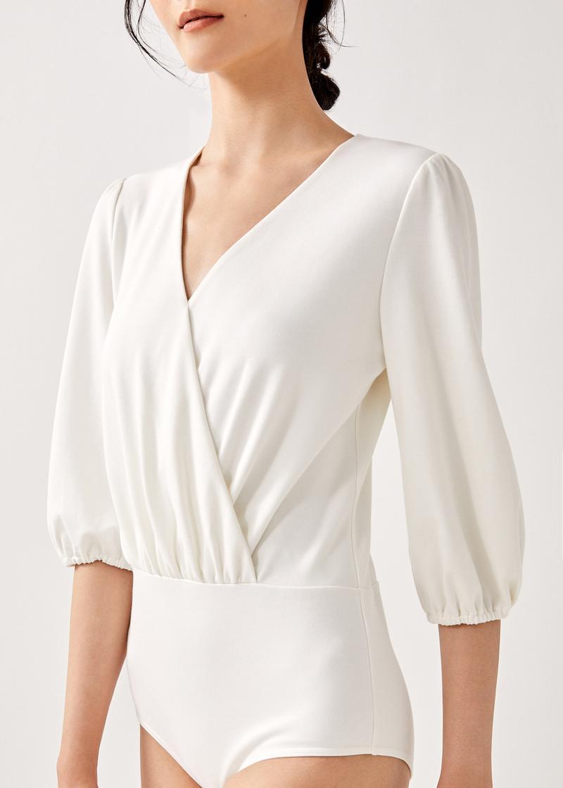 Amelee Puff Sleeve Bodysuit