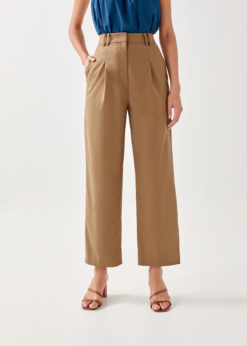 Welsie Tailored Straight Leg Pants