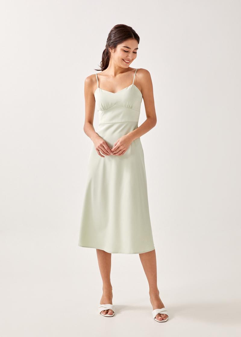 Alexera A-line Midaxi Dress