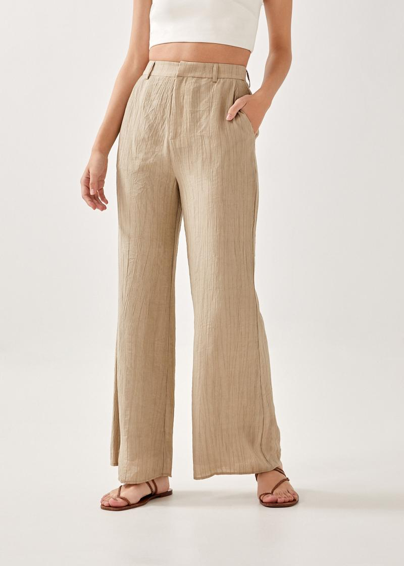Cayenne Textured Tailored Pants