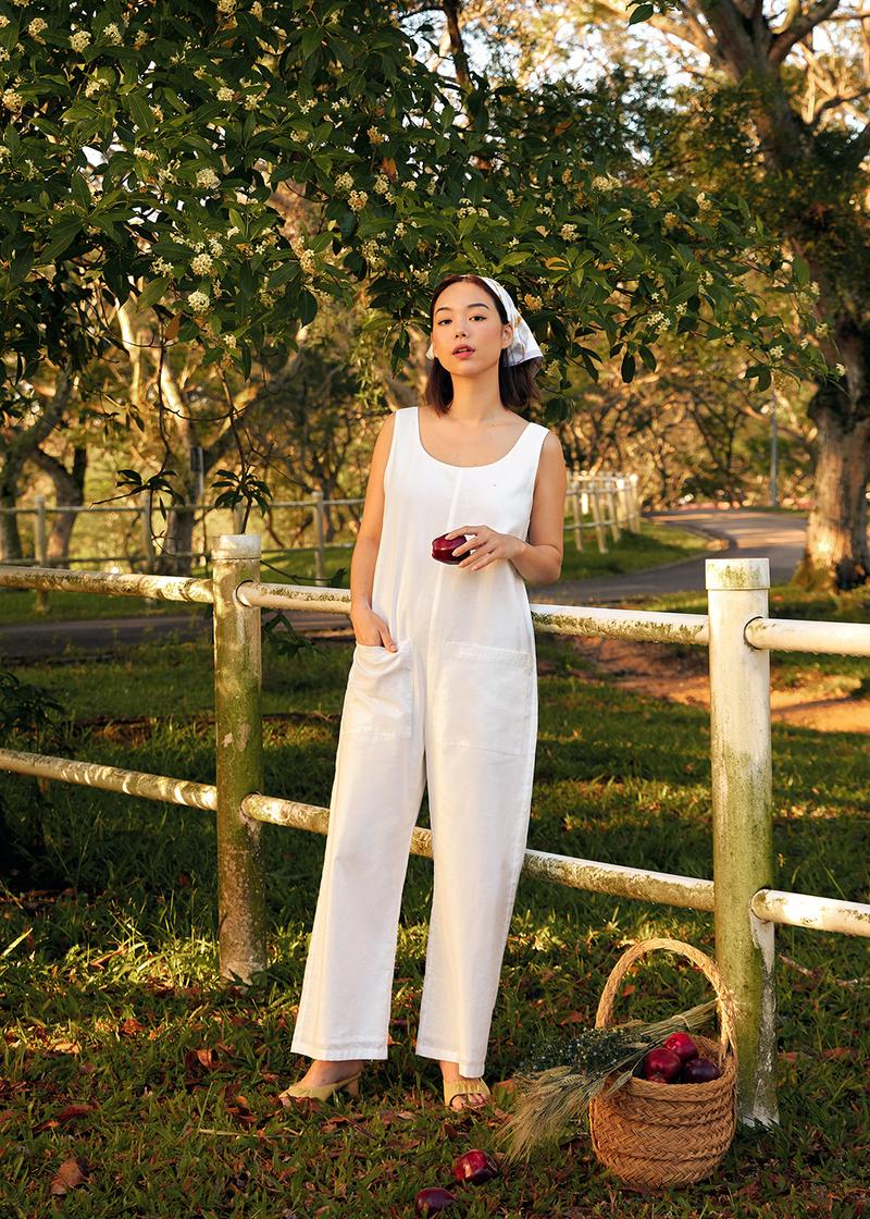 Ambrose Patch Pocket Relaxed Jumpsuit