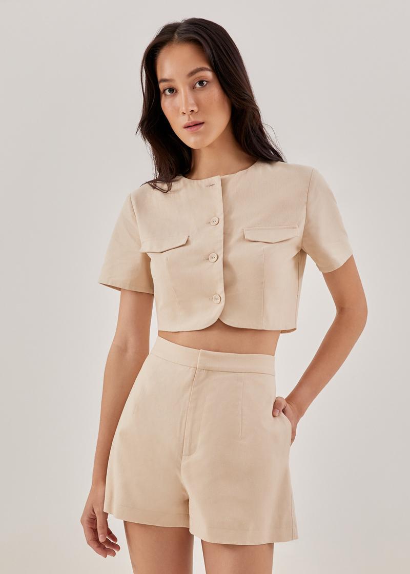 Karla Linen Shorts