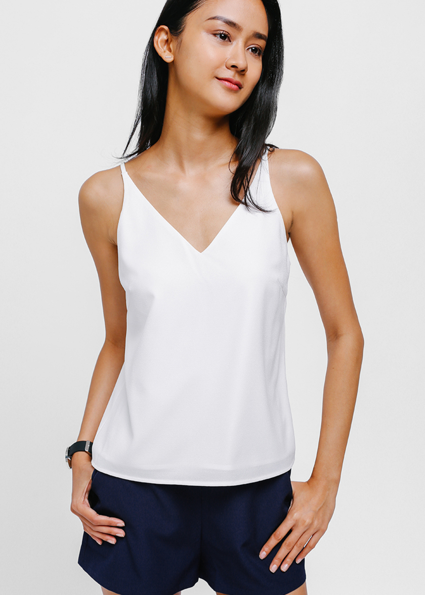Ciaberra V-neck Layered Camisole