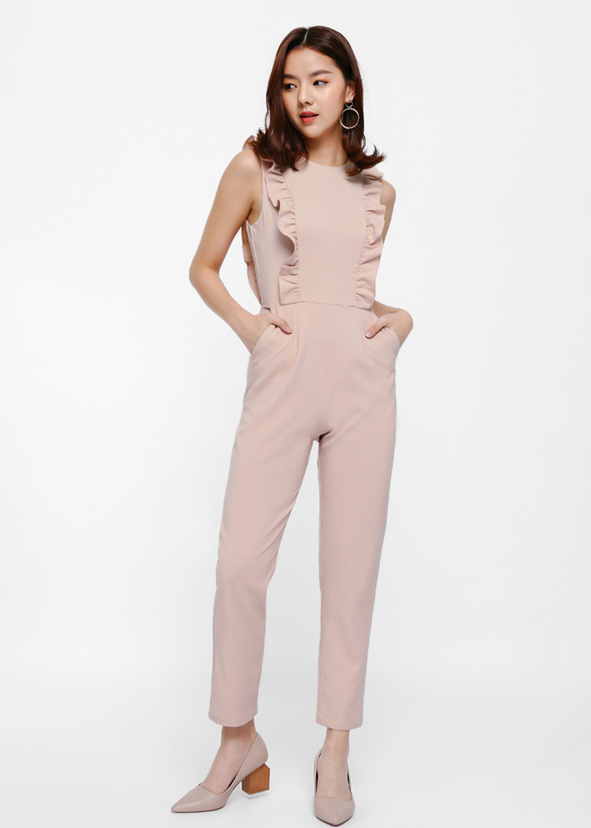 Sofis Ruffled Jumpsuit