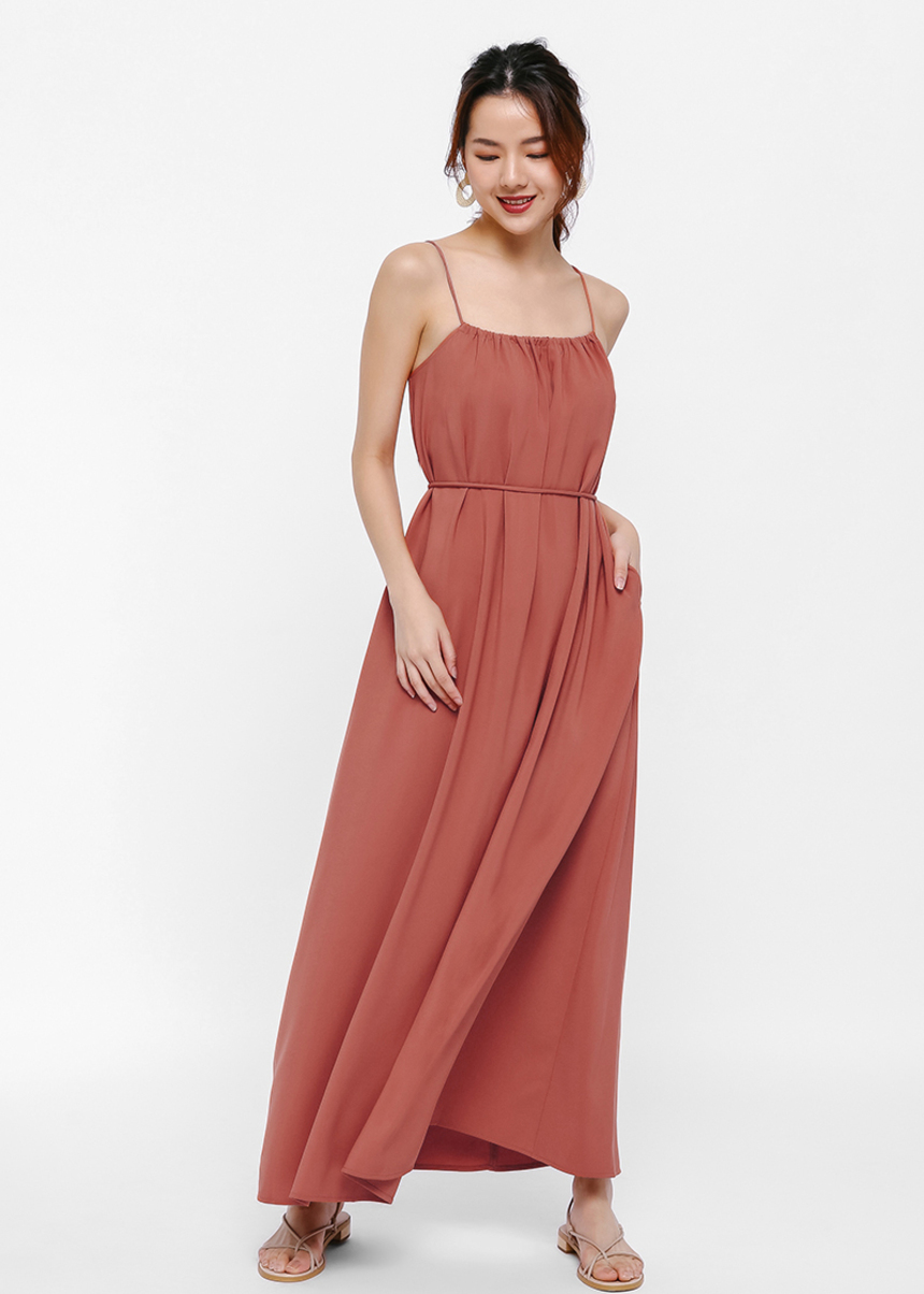 Gracia Tie-back Cami Maxi Dress