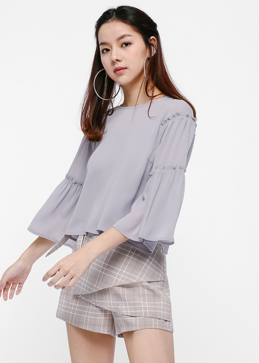 Anja Tiered Sleeve Top