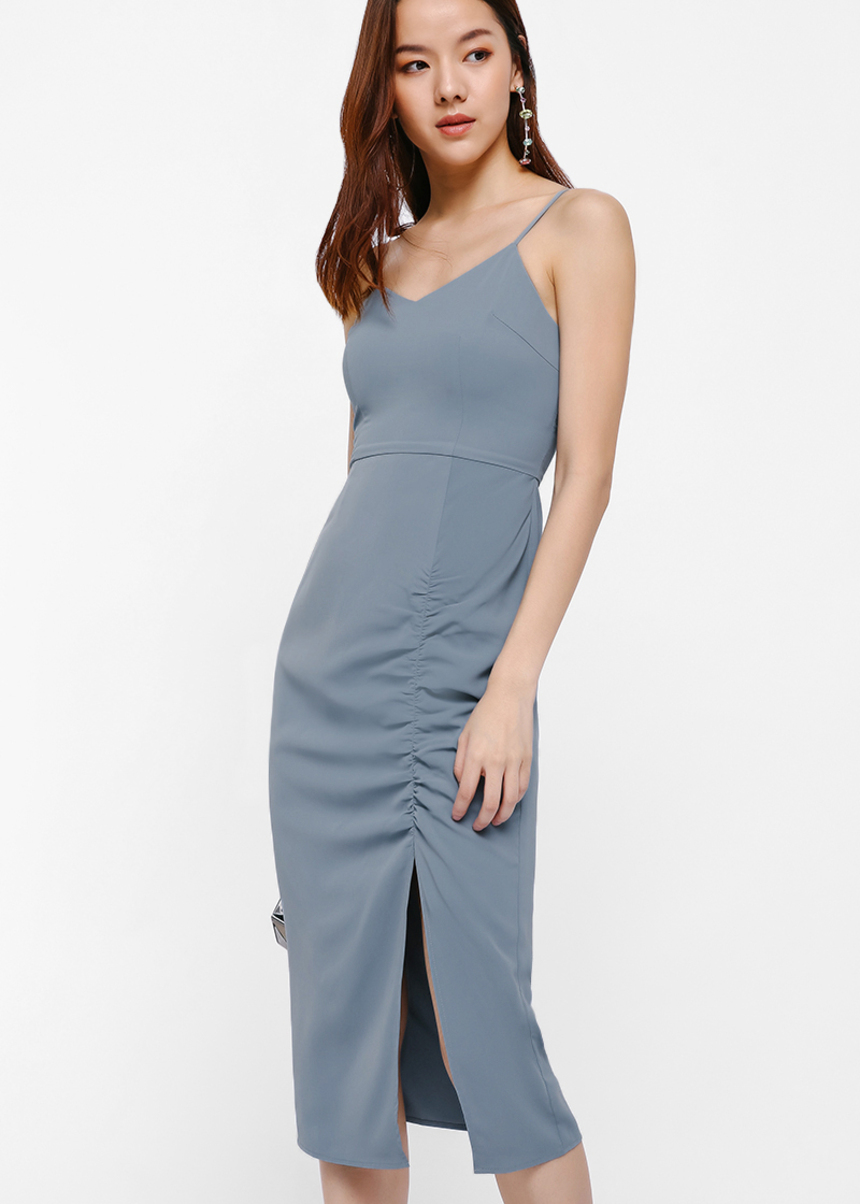 Britta Ruch Hem Bodycon Dress