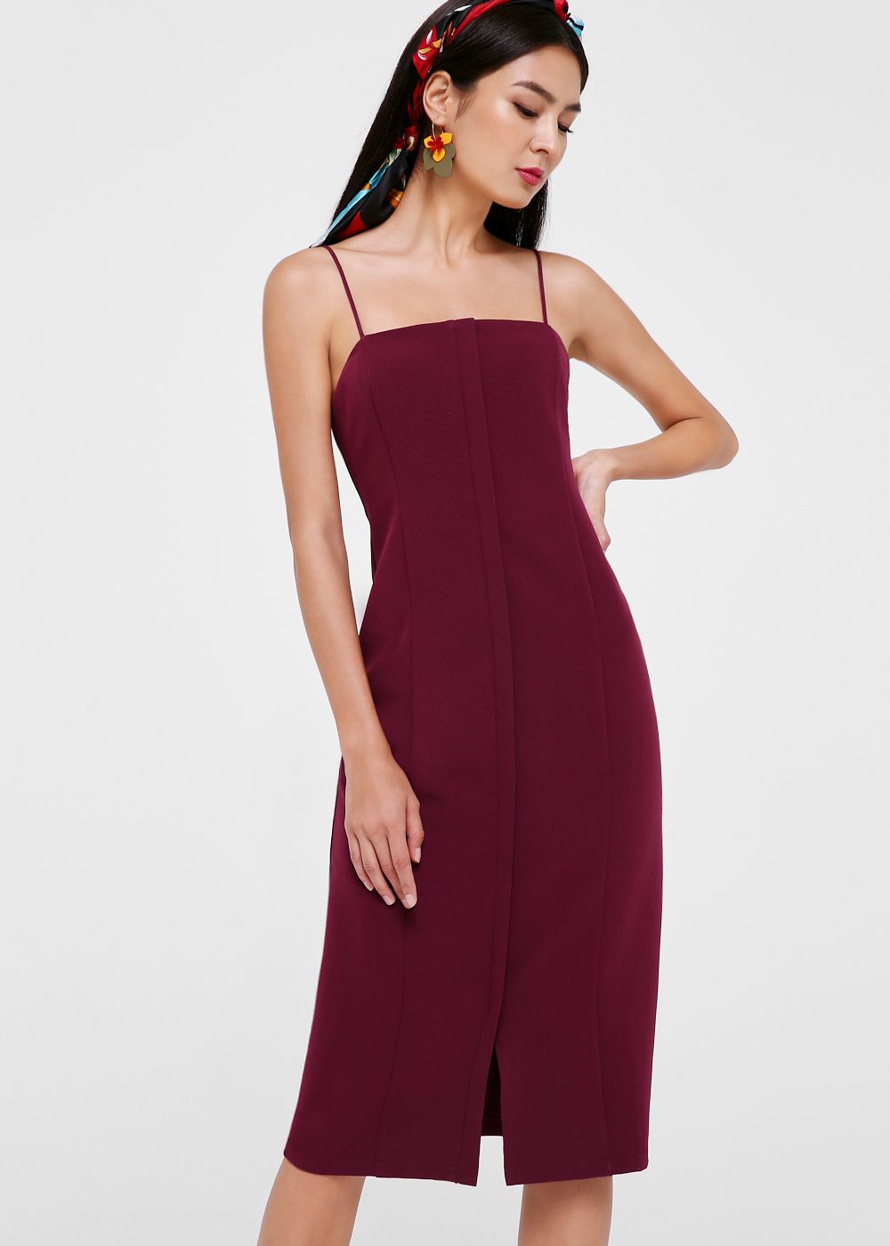 Raelynn Bodycon Midi Dress