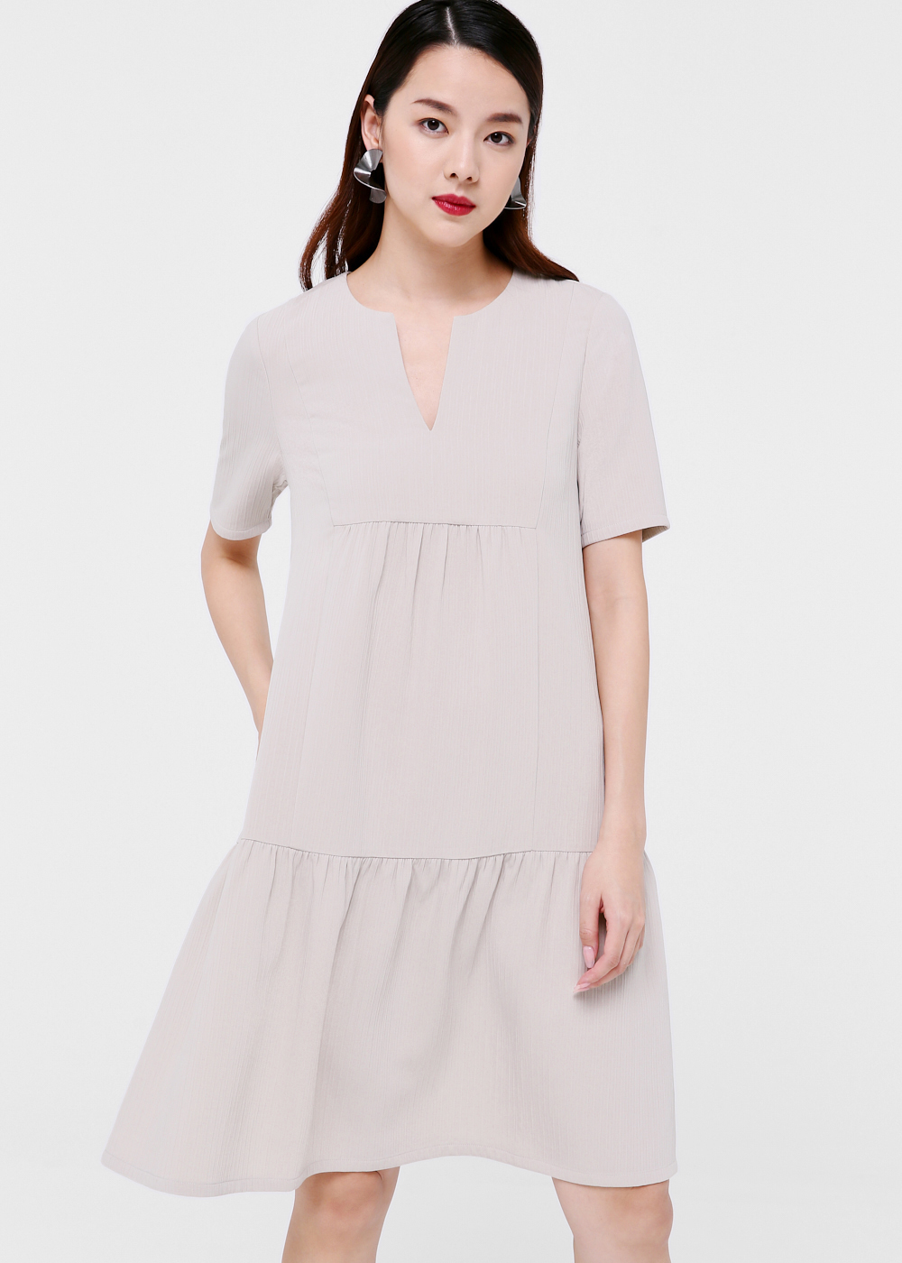 Lyrik Tiered Midi Dress