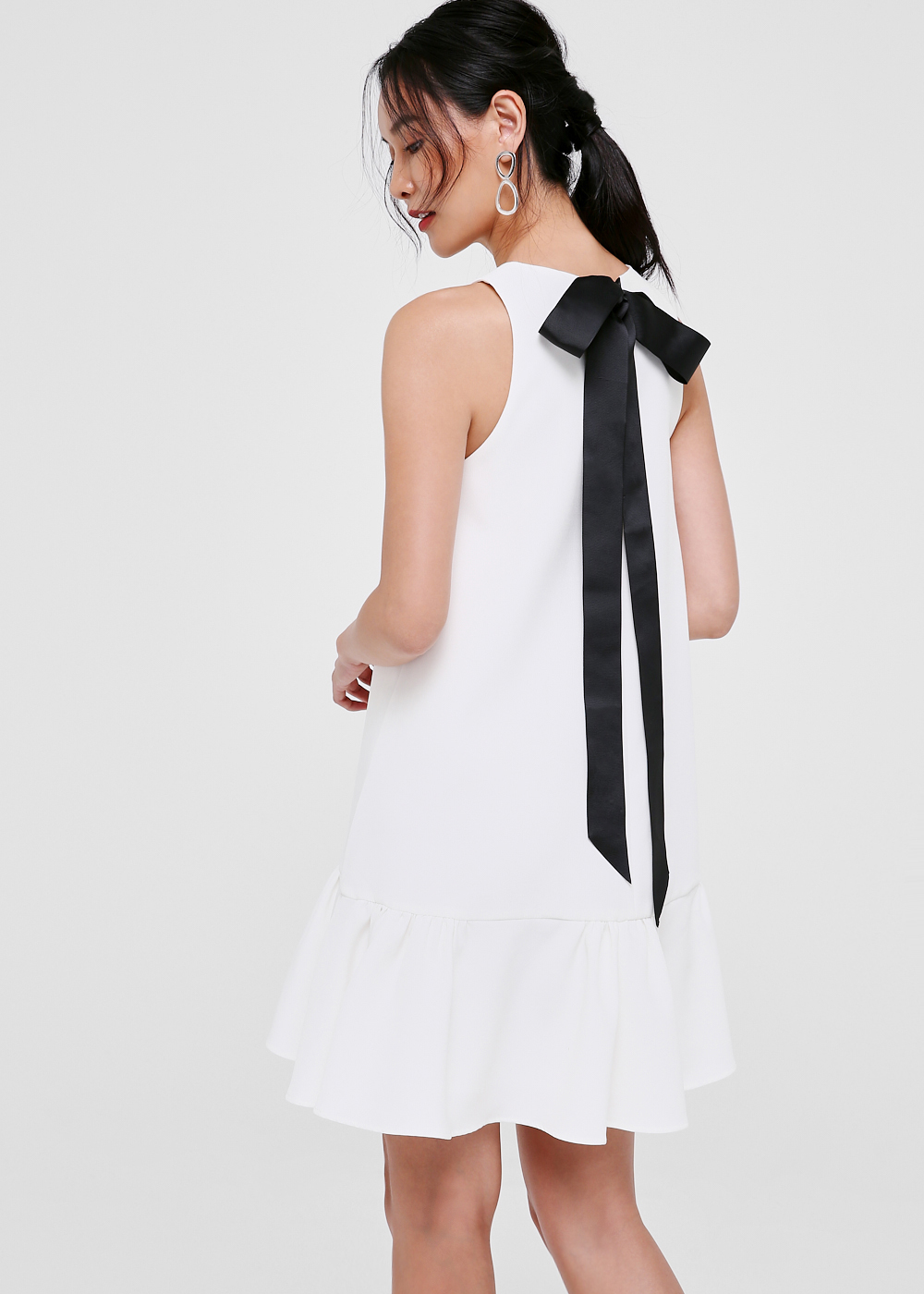 Marie Tie Back Swing Dress