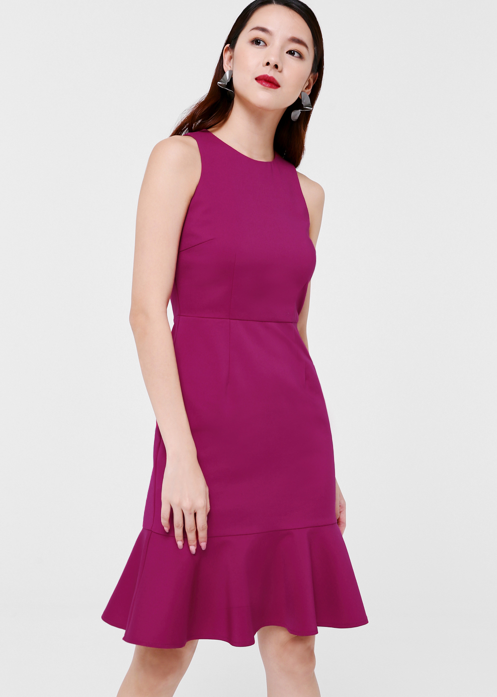 Adley Trumpet Bodycon Dress