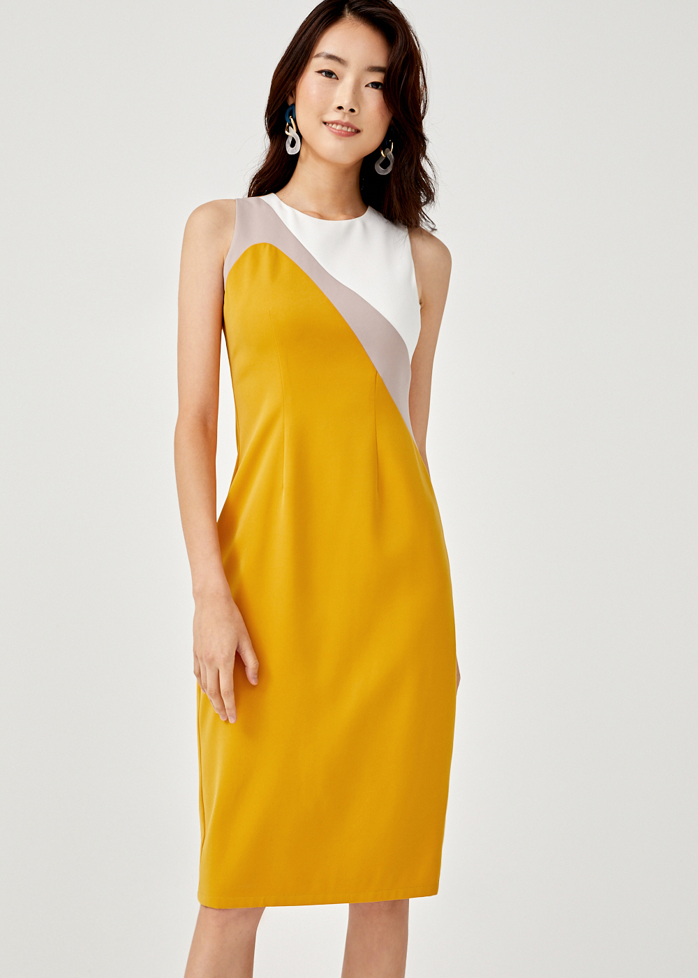 Camdynne Colour Block Pencil Dress