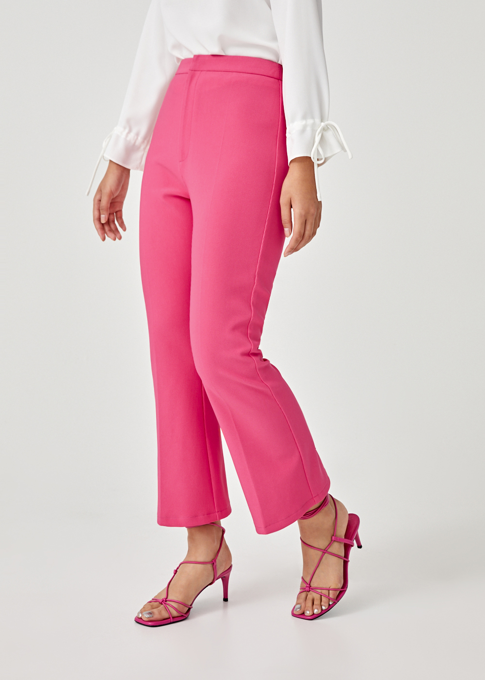 Camryn Cropped Kick Flare Pants