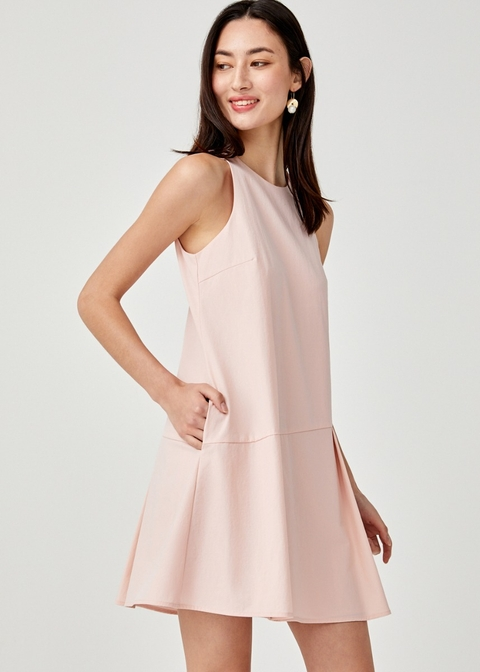 Payton Drop Hem Shift Dress