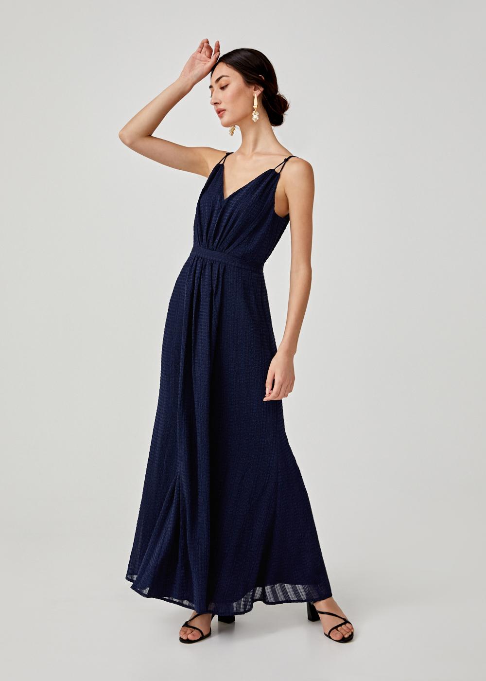 Allie Textured Camisole Maxi Dress