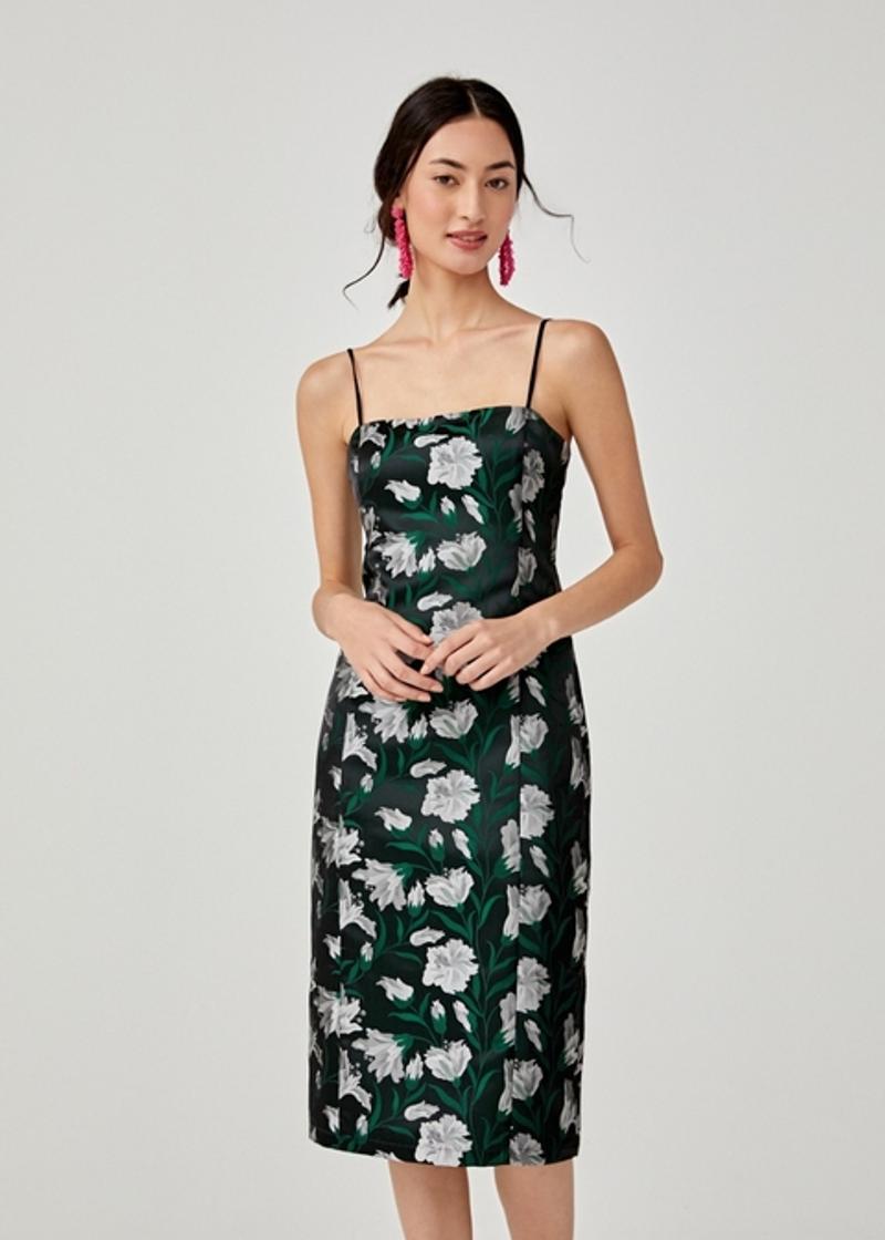 Eirene Jacquard Bodycon Dress