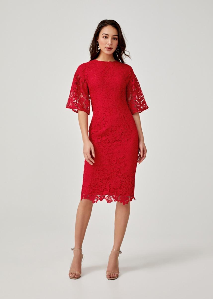 Isadora Lace Bodycon Dress