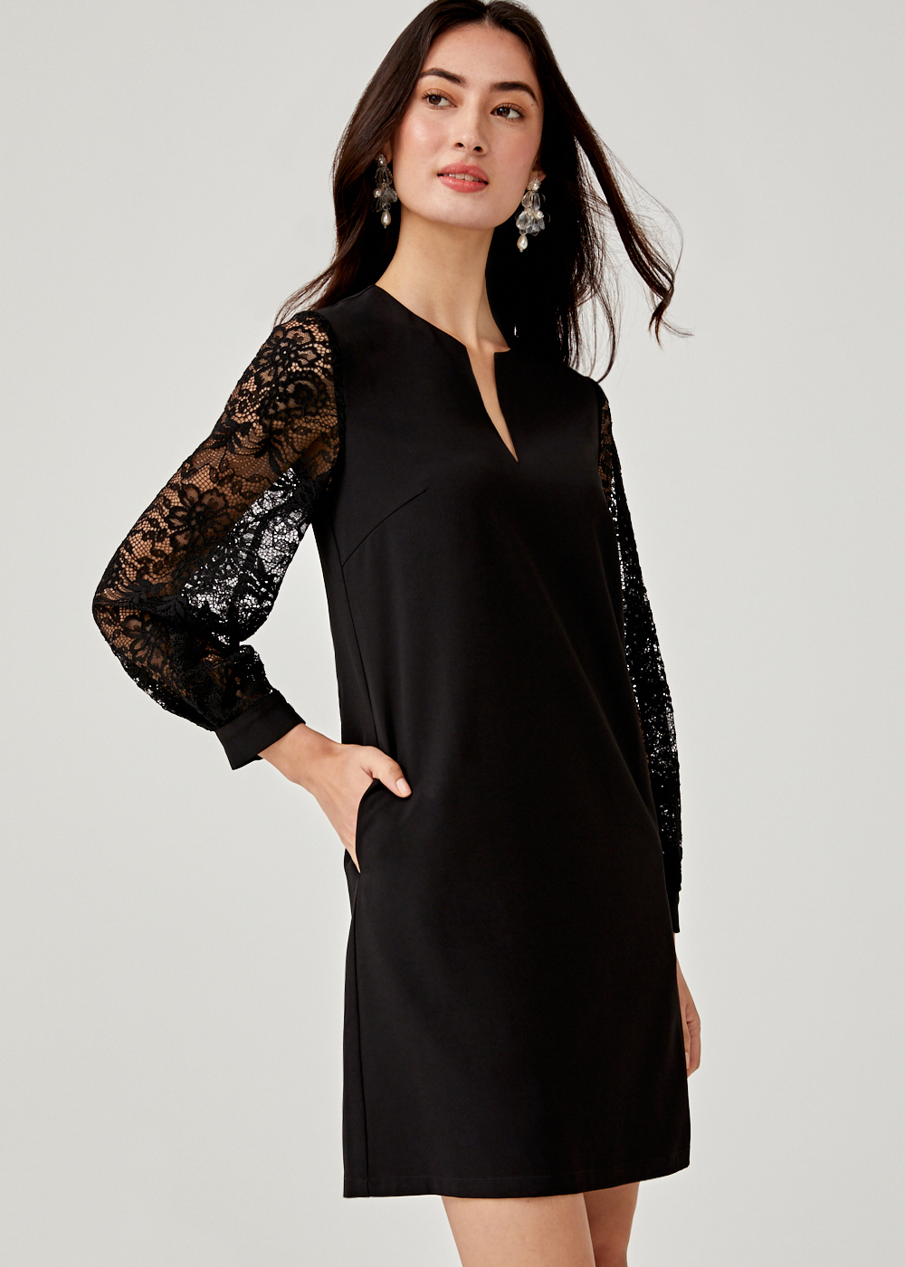 Neoma Lace Shift Dress