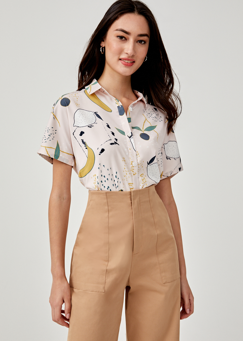 Mireyan Button Down Shirt in Tutti Frutti