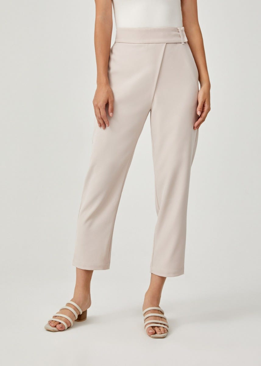 Yatniel Tailored Peg Leg Pants
