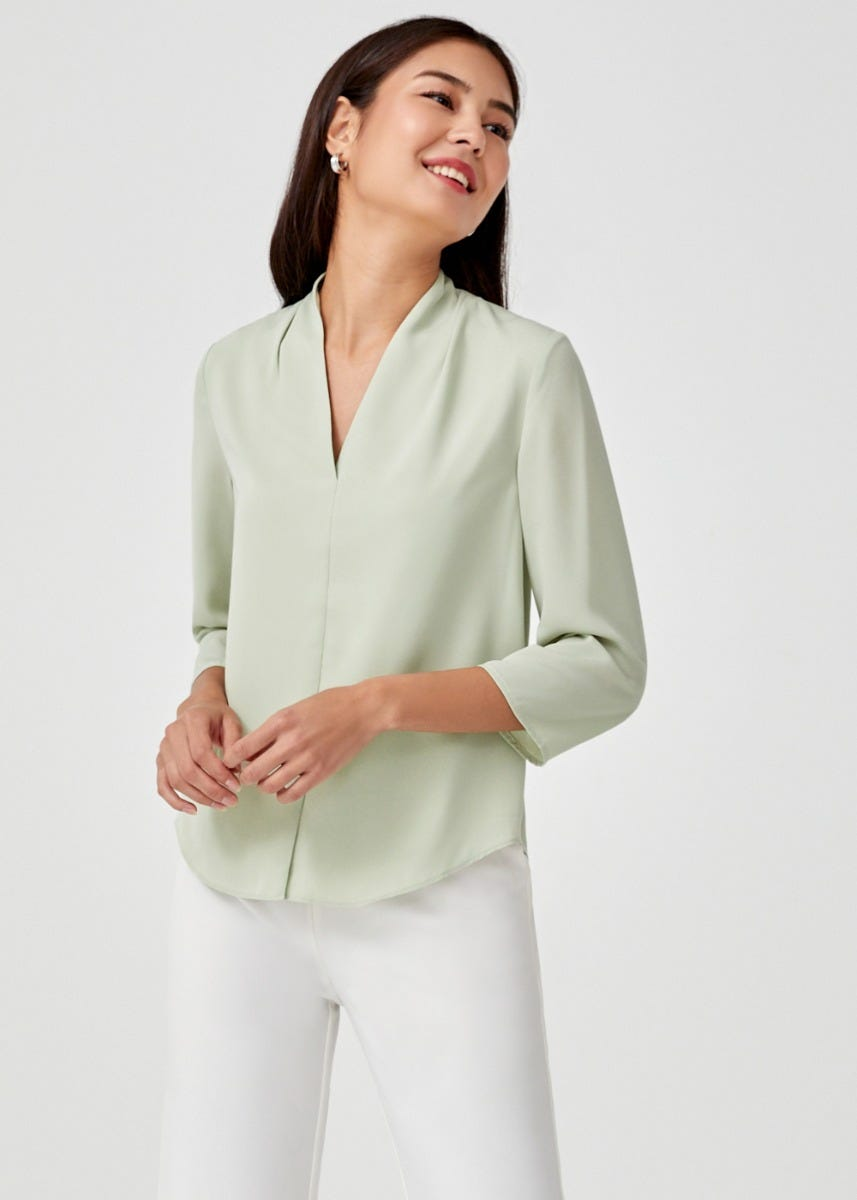 Tinsley V-neck Blouse